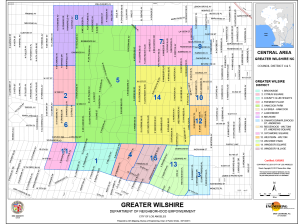 Greater Wilshire Map